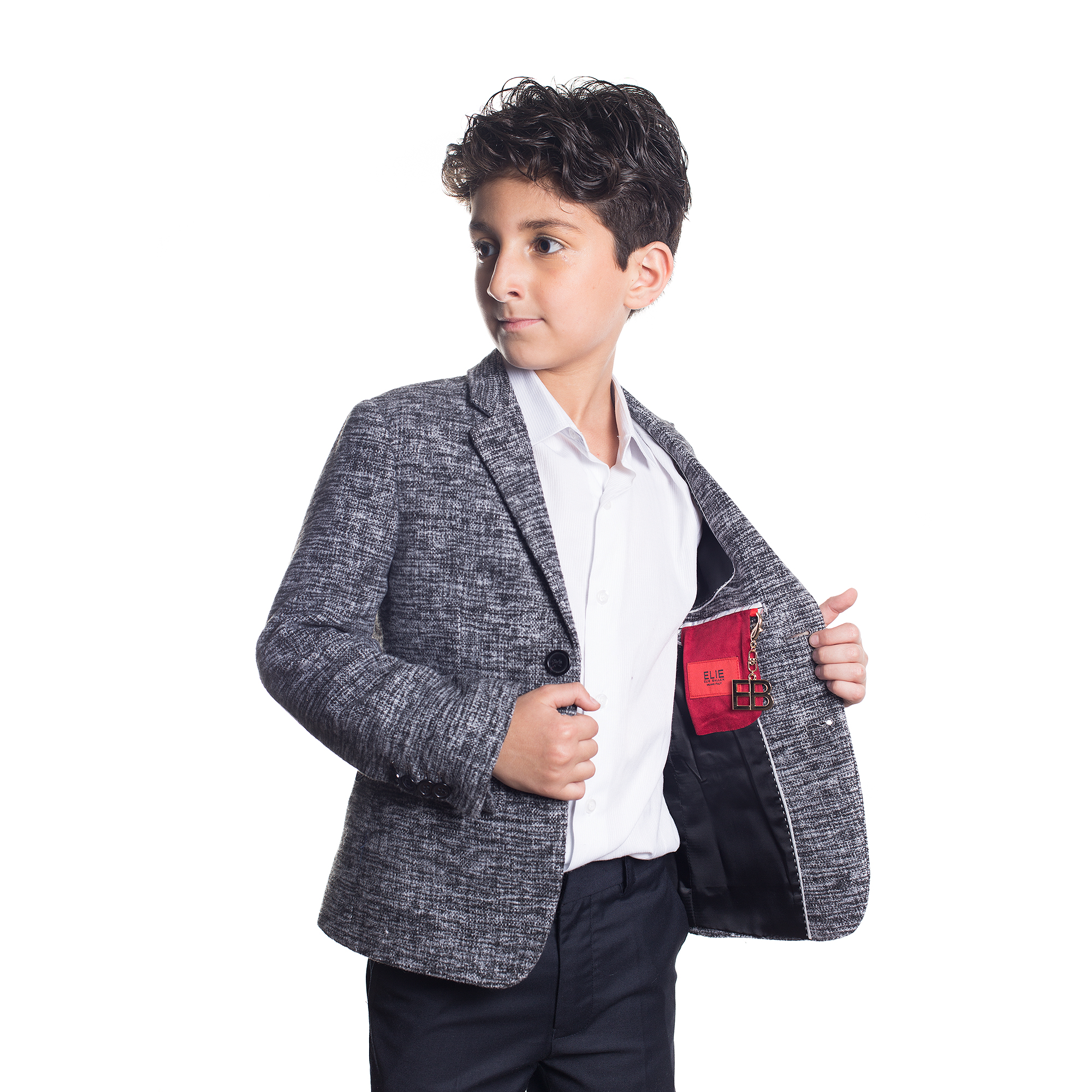 Mélange Wool Boys Blazers / Sports Coat Jacket EBBW1554