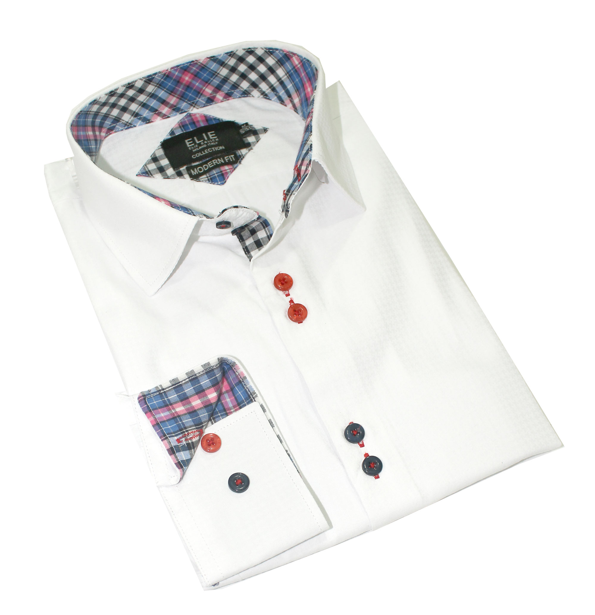 Solid Textured premium Boys Shirts / Button Down CEBSH300B