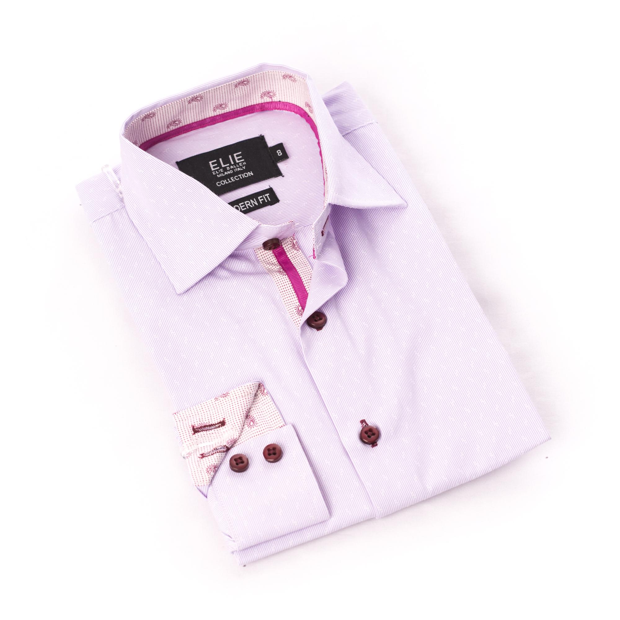 Pinstripe premium Boys Shirts / Button Down CEBSH316B