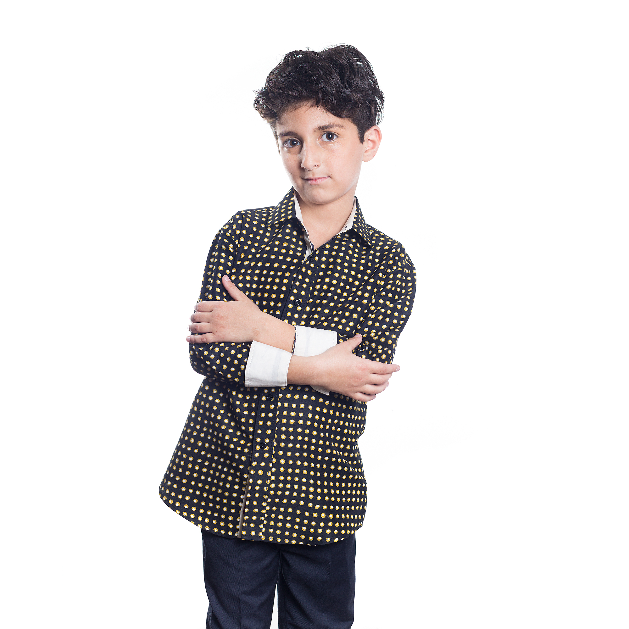 Golden Dots Boys Shirts / Button Down EBSH124B