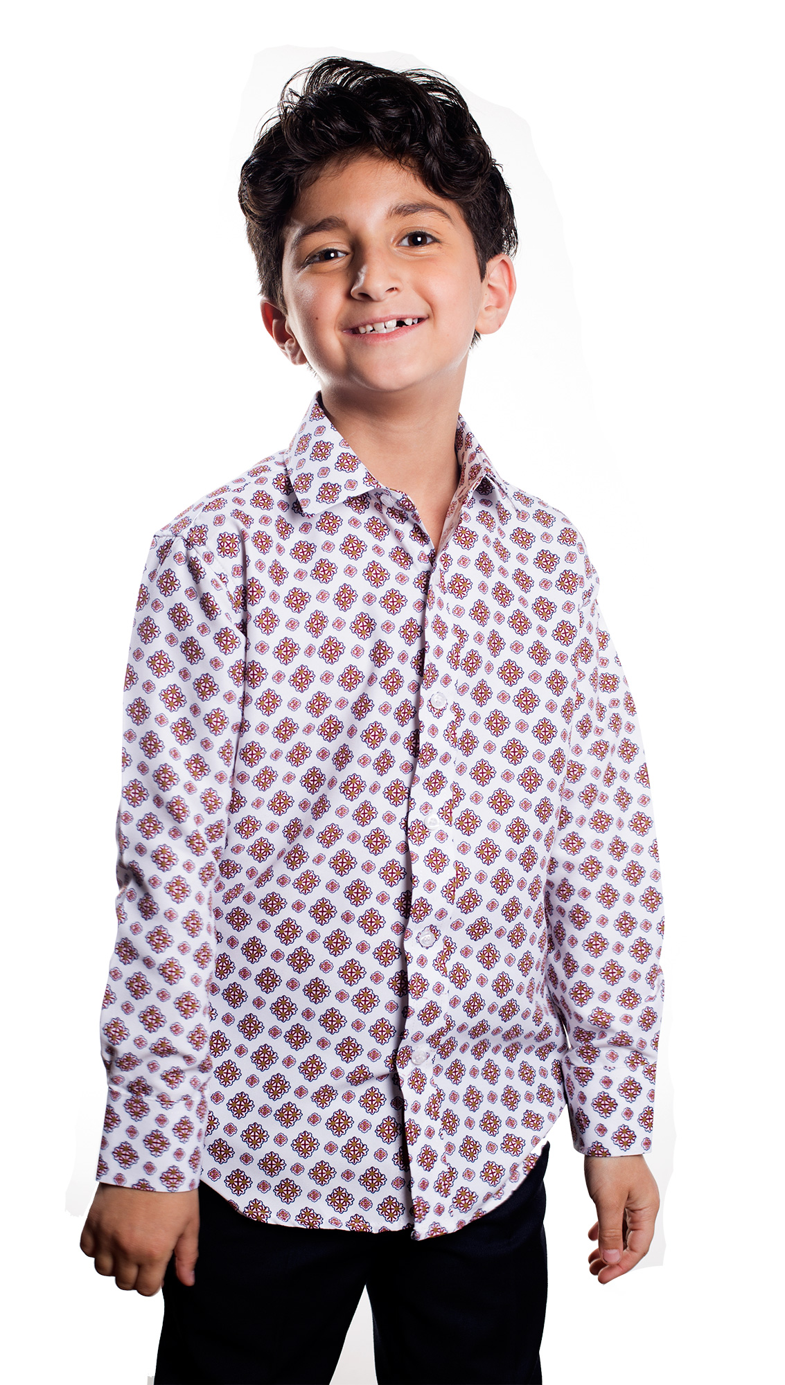 Printed Boys Shirts / Button Down EBSH158B
