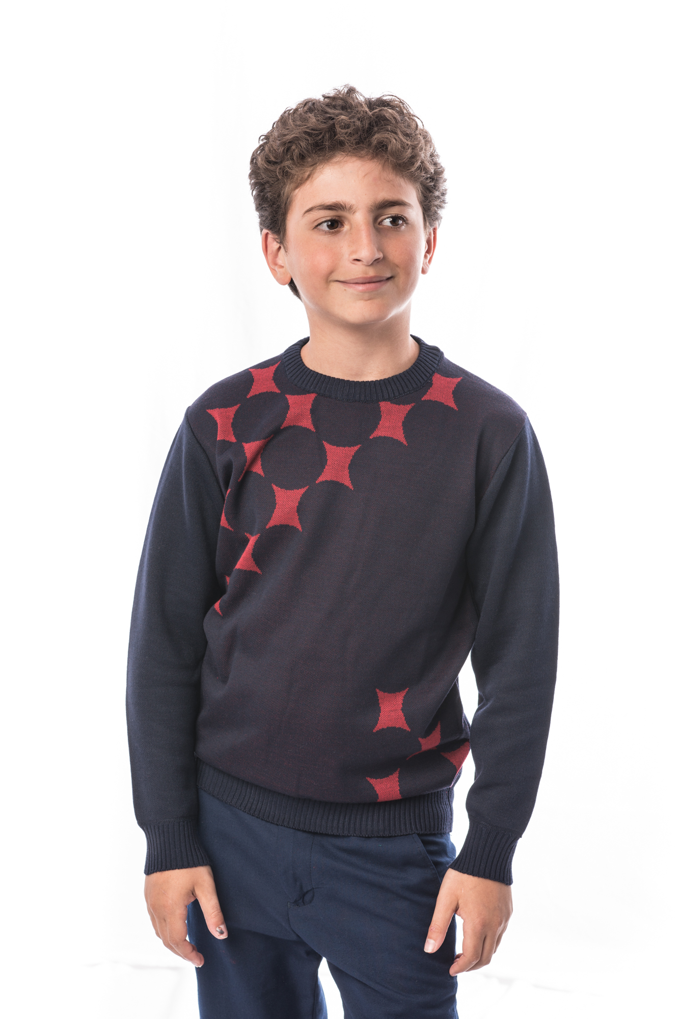 Diamond Design Boys Sweater EBST1614B