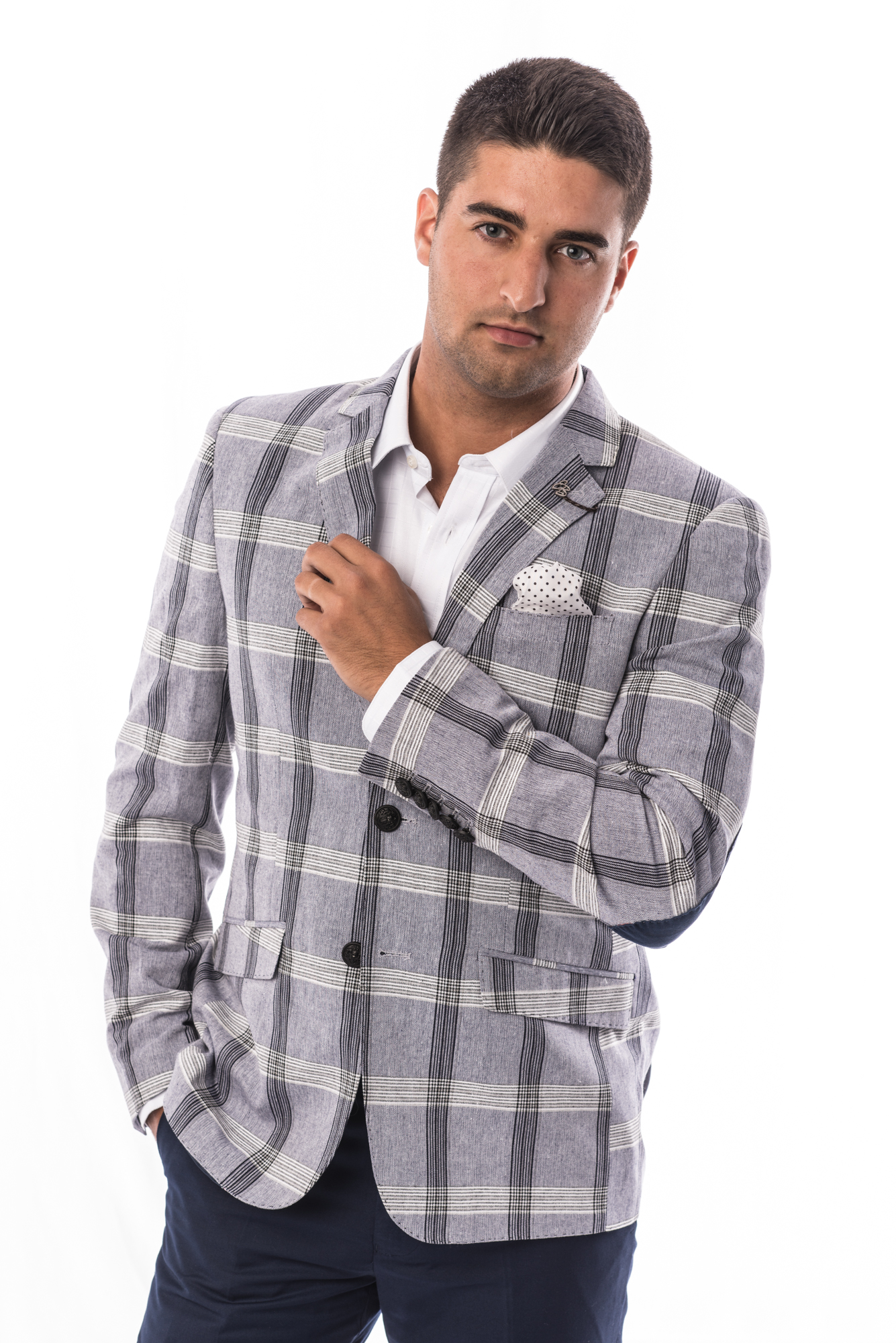 Plaid Men Blazers / Sports Coat Jacket EBBS1703M