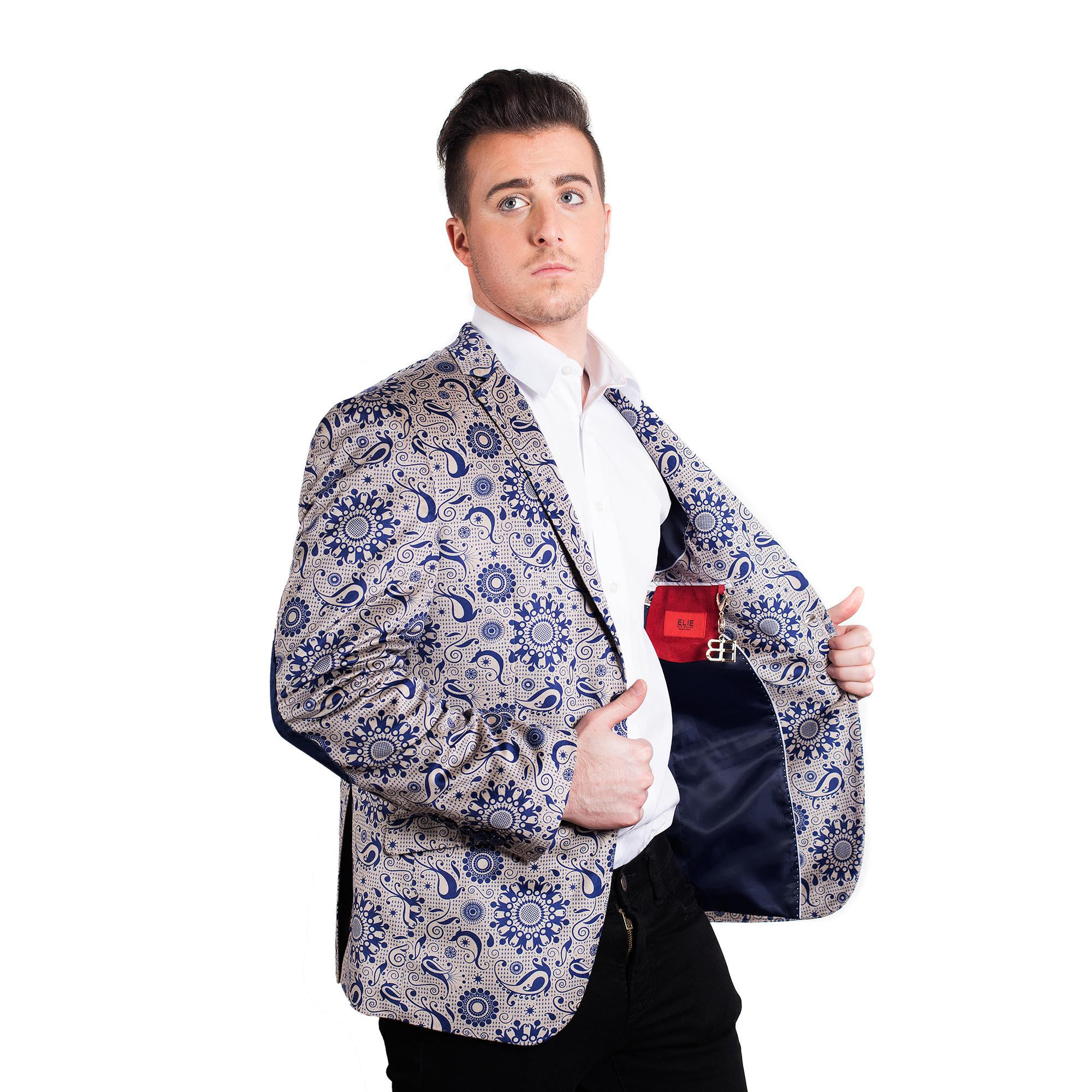 Paisley Men Blazers / Sports Coat Jacket EBBW1544M