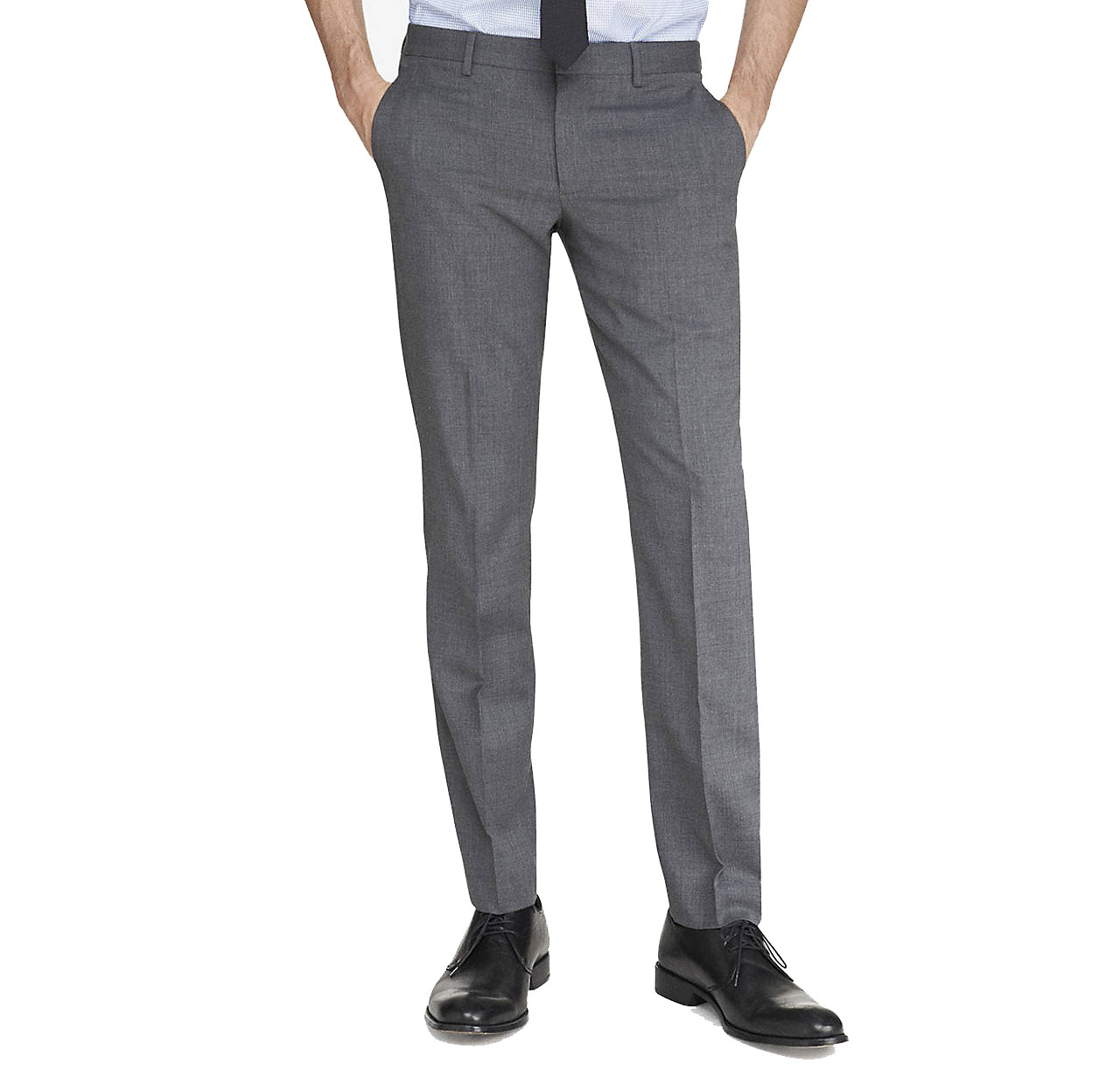 Solid Dress Men Pants / Slacks EBPS1681M