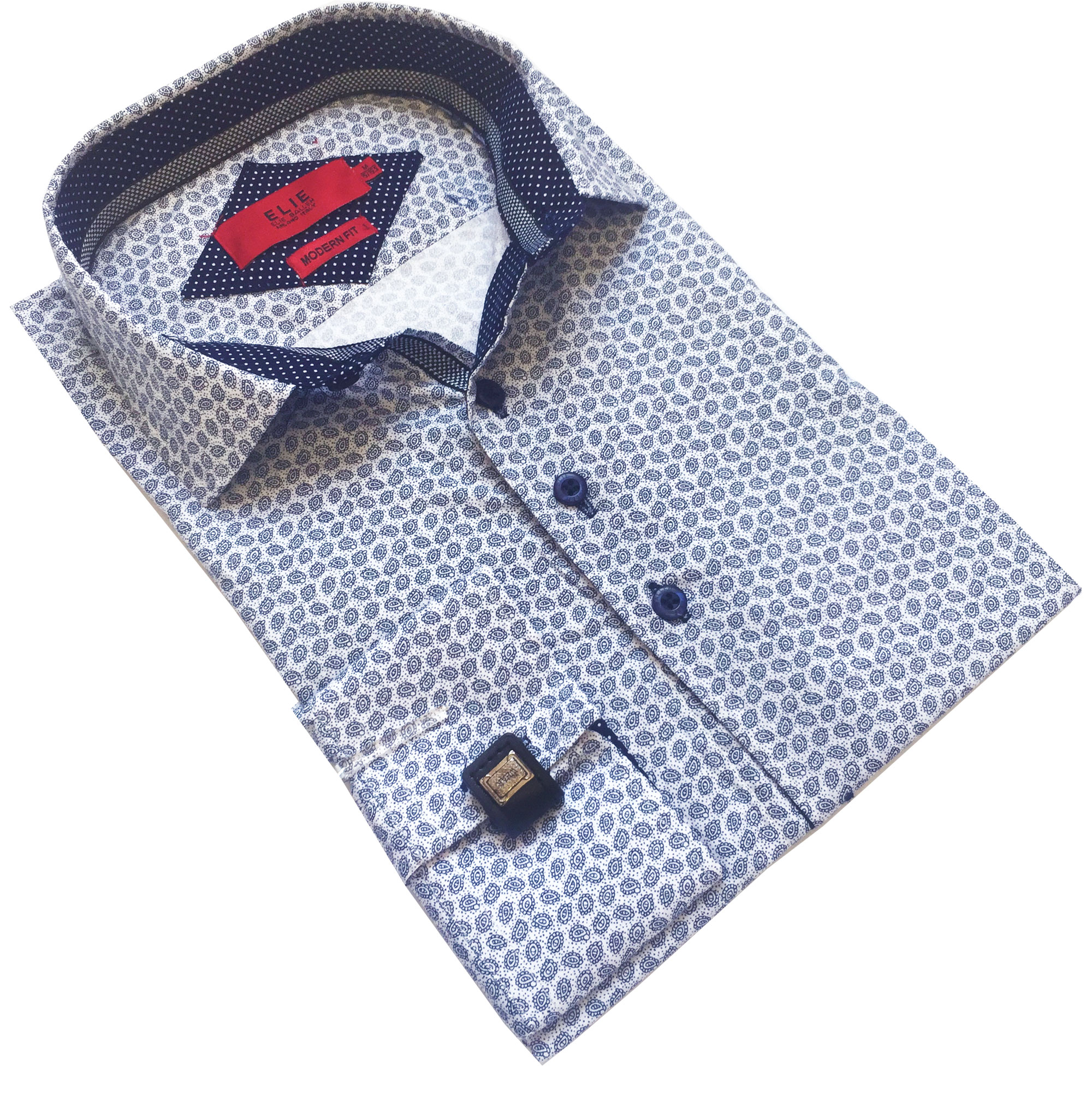 Fine Paisley Men Shirts / Button Down EBSH243M