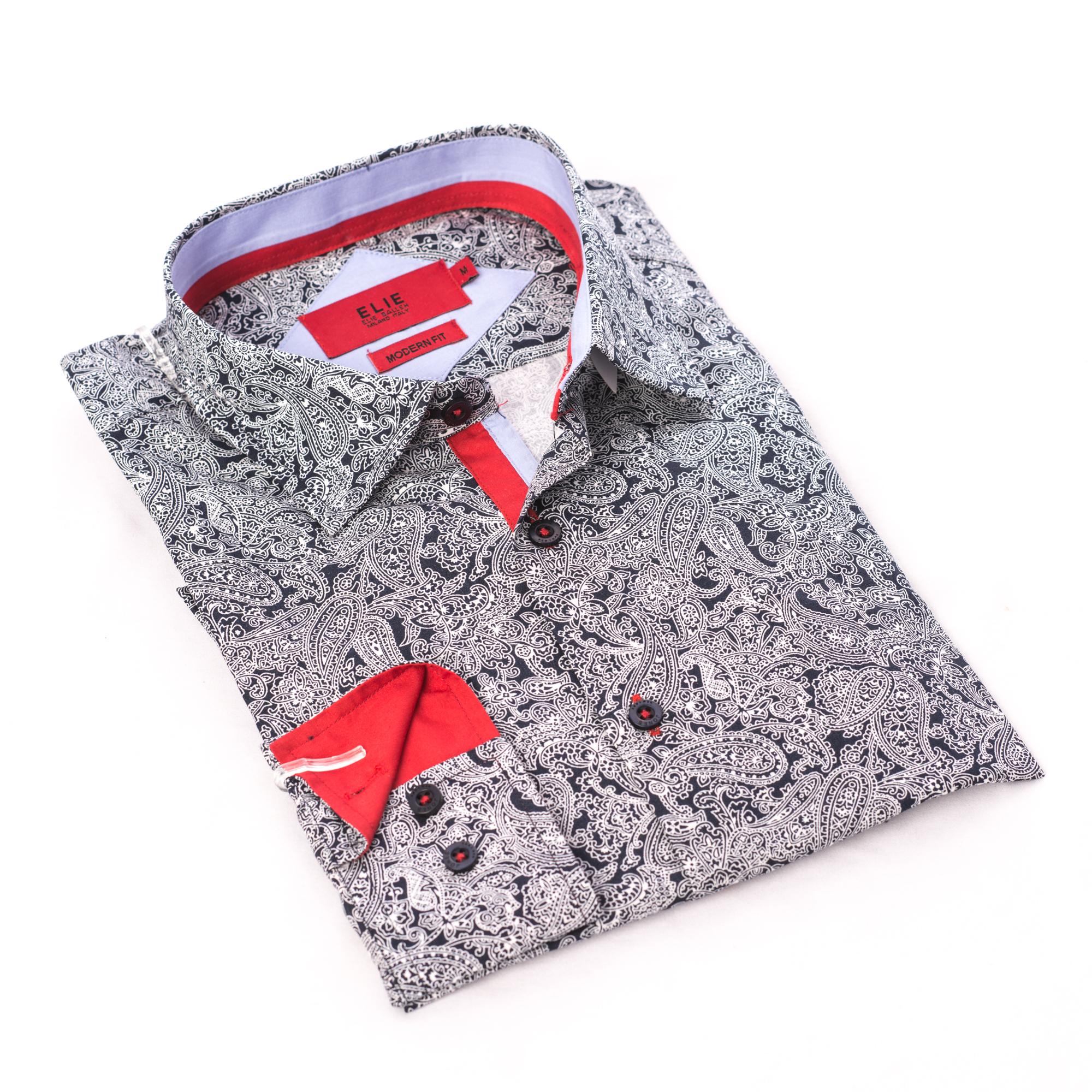 Paisley Men Shirts / Button Down EBSH246M