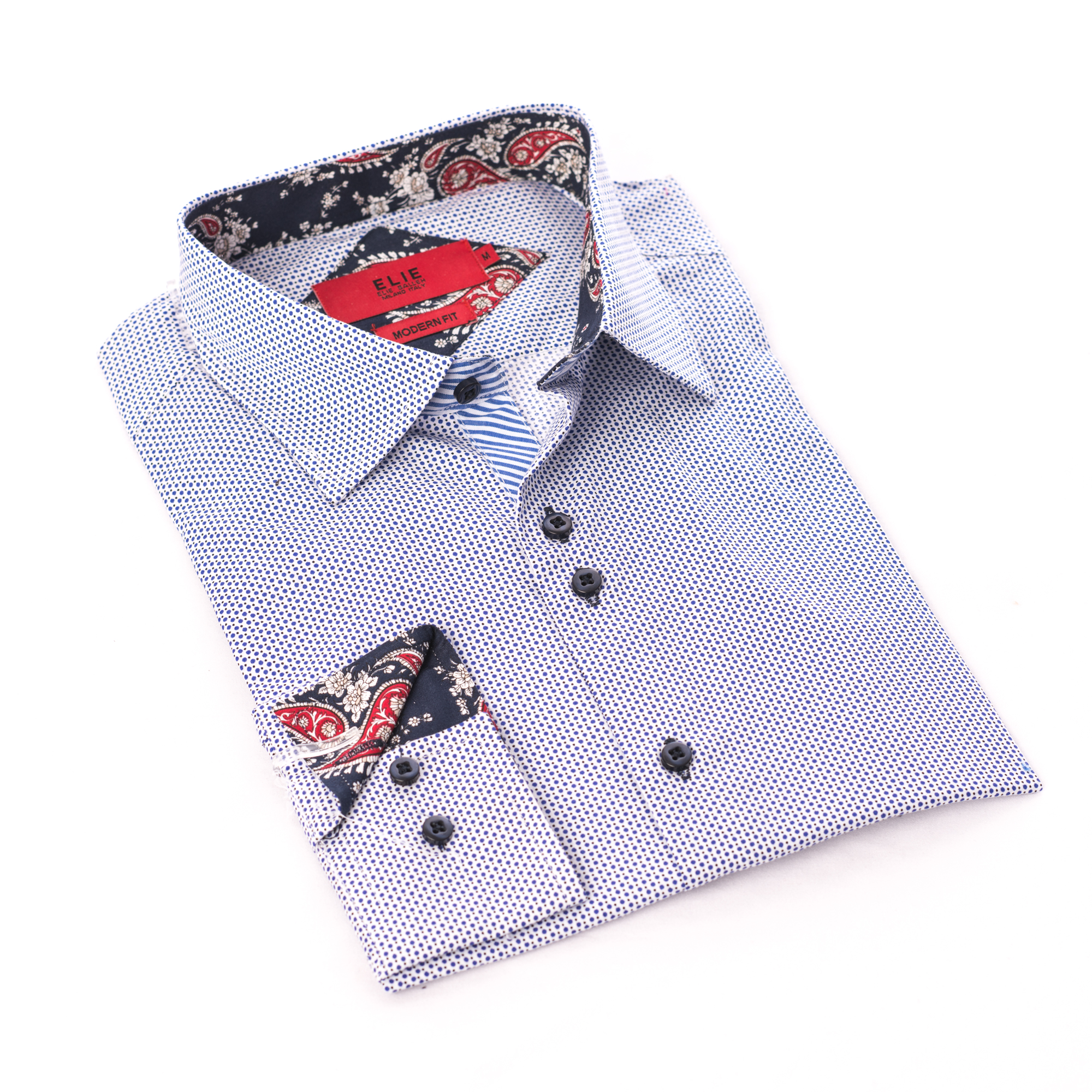 Doted Men Shirts / Button Down EBSH249M