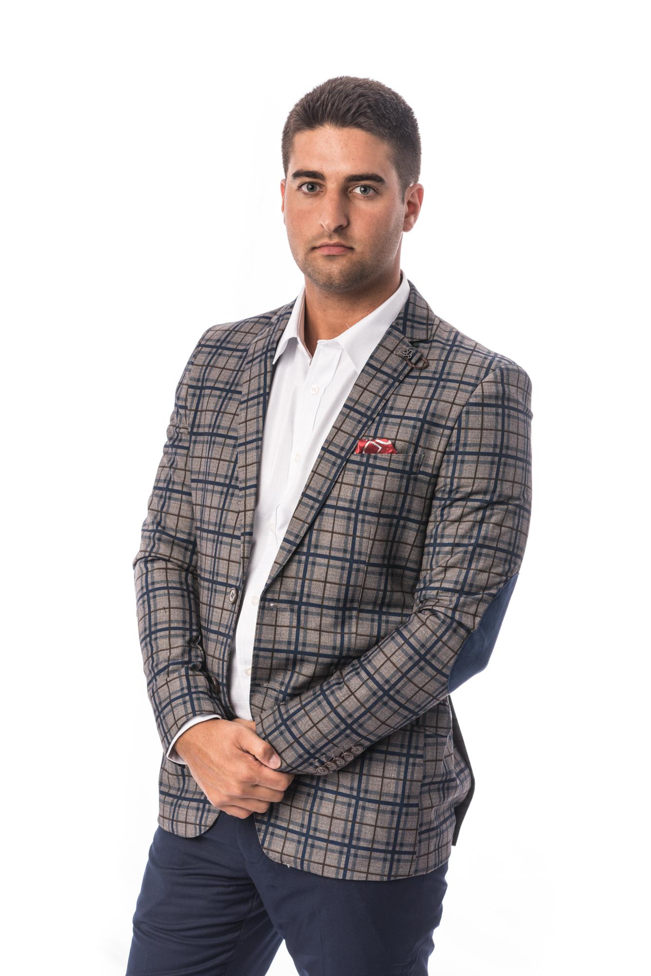Plaid Men Suits EBSW1692M