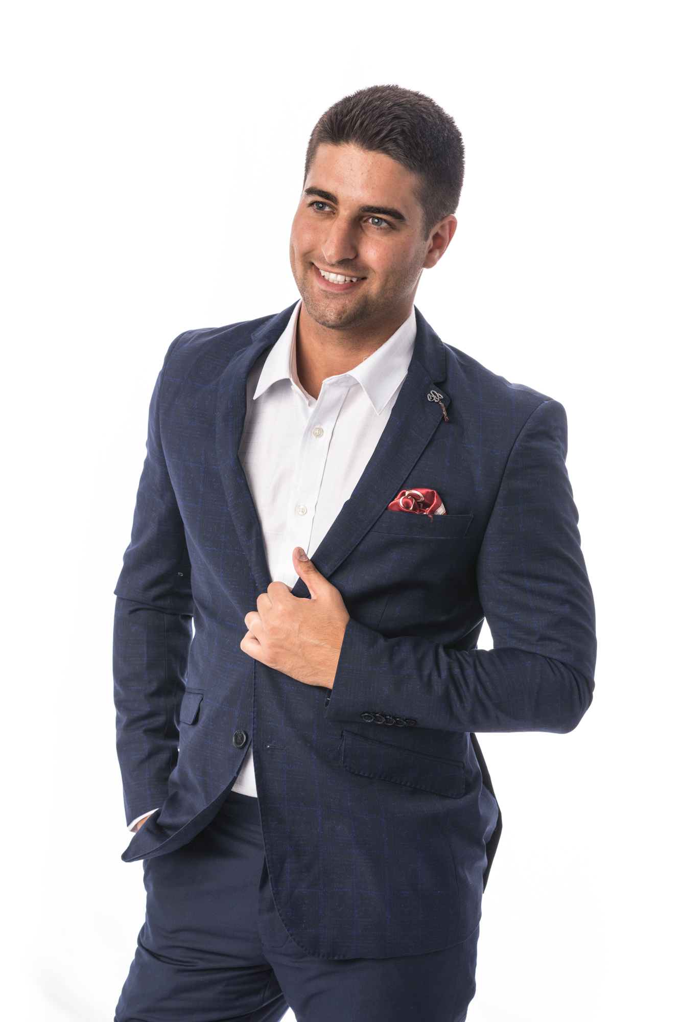 Patterned Men Suits EBSW1695M