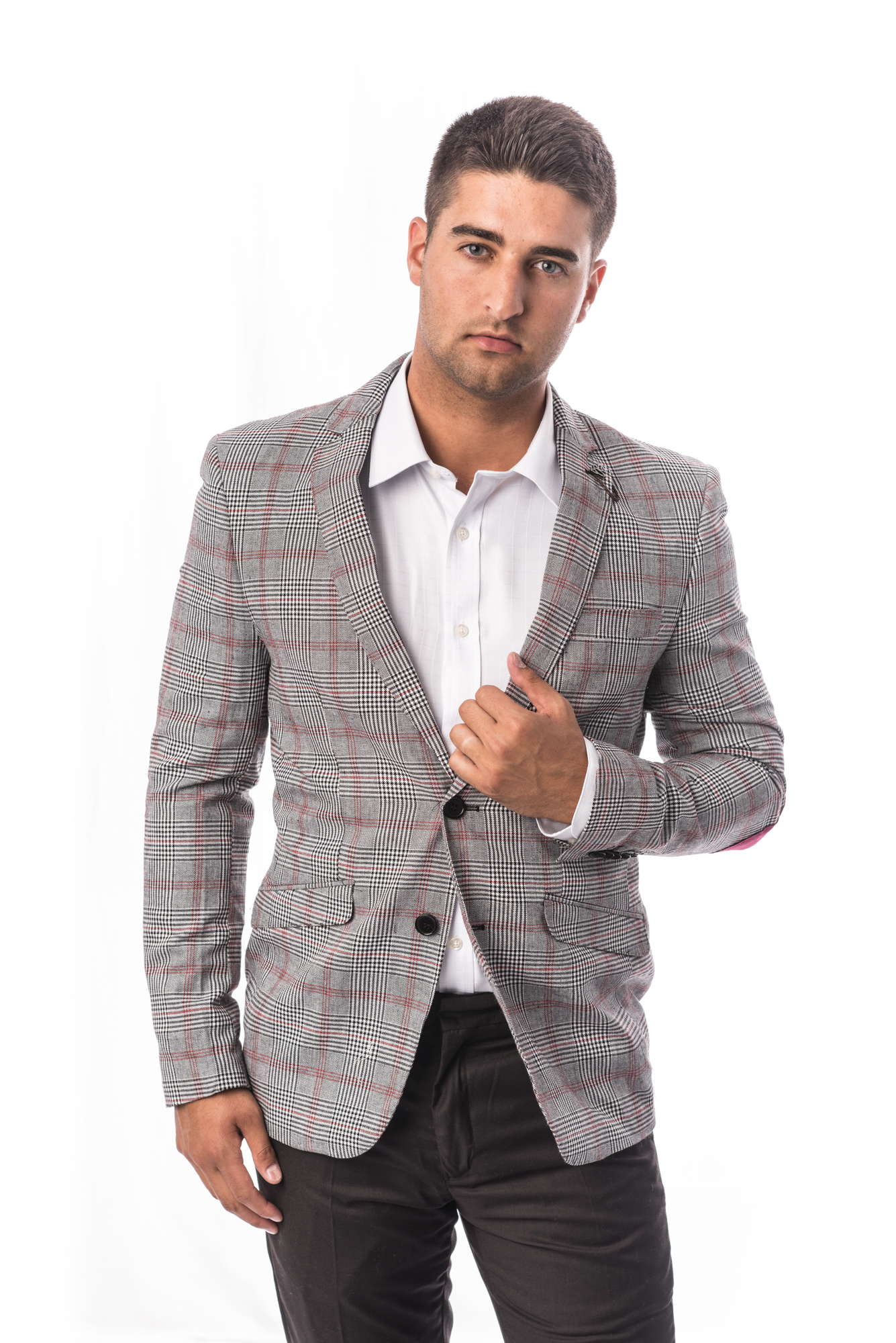 Checkered Men Suits EBSW1696M