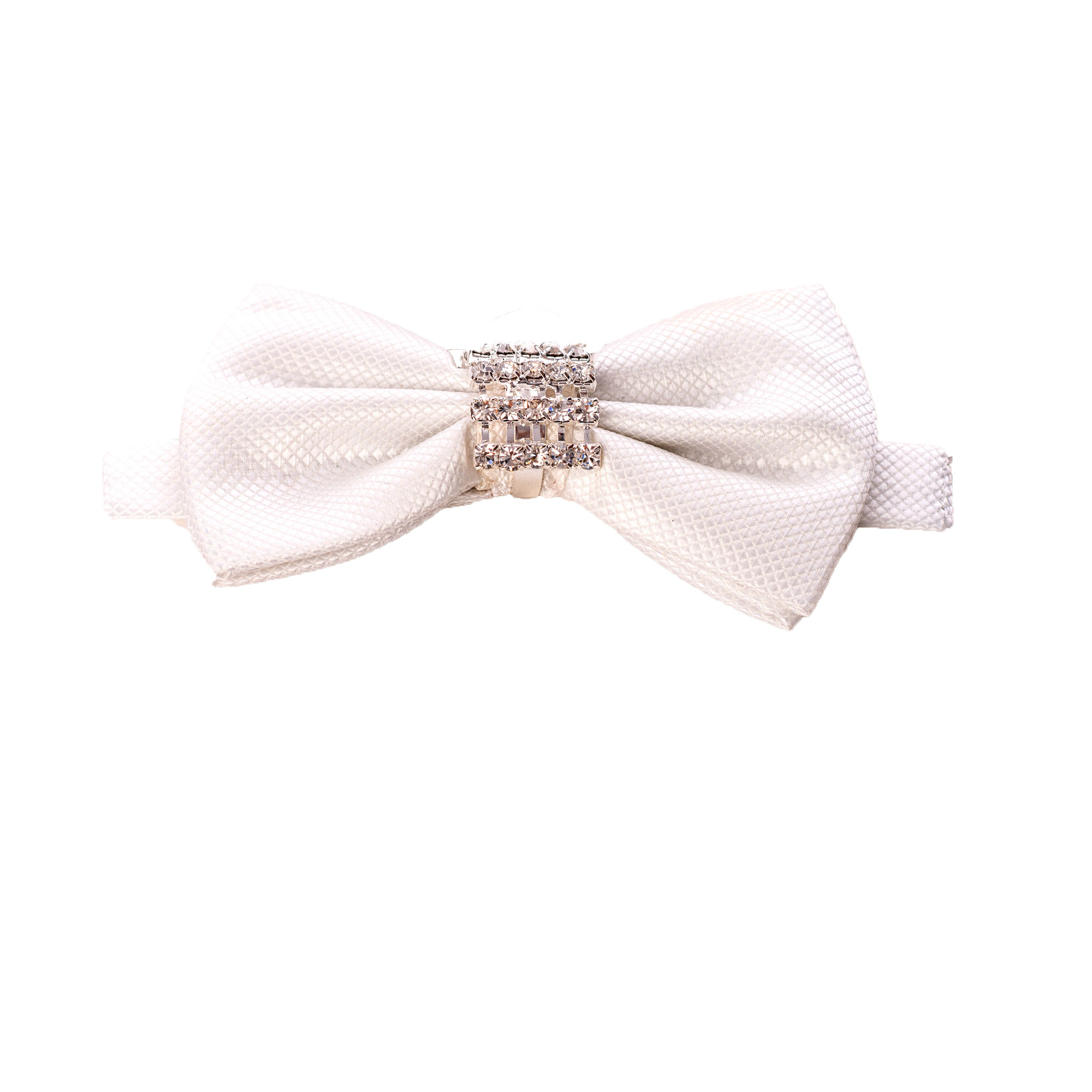 Crystalized Solid Men's Bowties EBBT20-1B